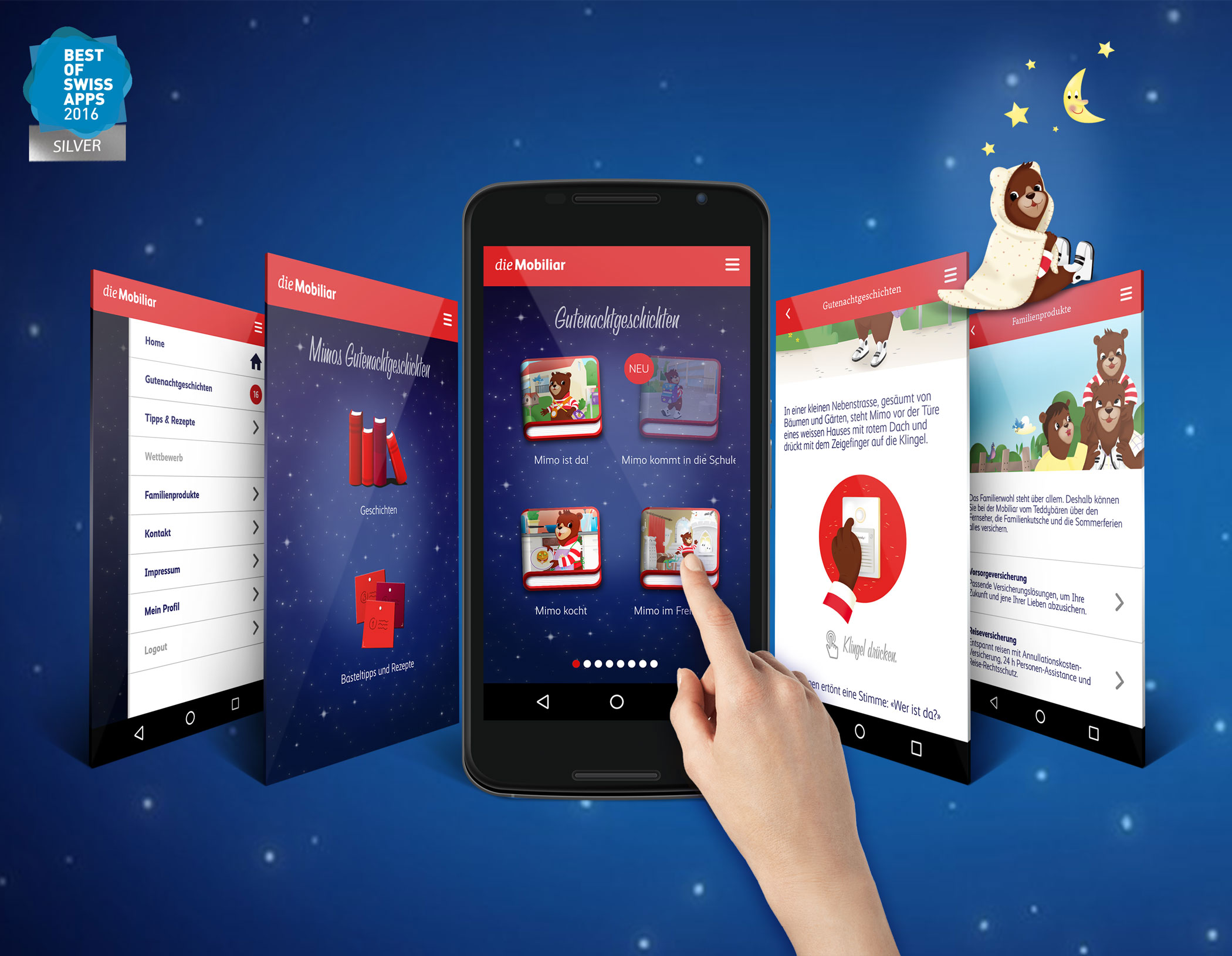 Mimo Goodnight Stories - Android app